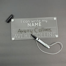 I CAN WRITE MY NAME tracing board