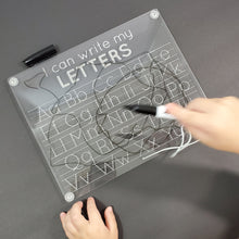 I CAN WRITE MY LETTERS tracing board