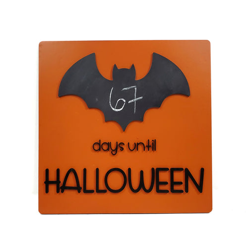 HALLOWEEN BAT countdown