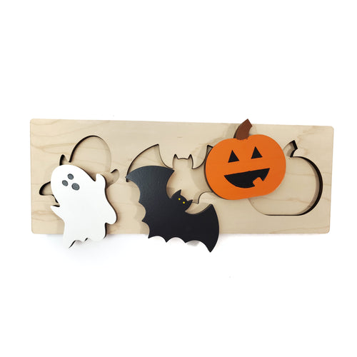 HALLOWEEN SHAPES puzzle