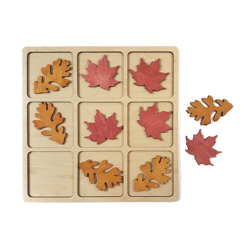 MAPLE + OAK tic tac toe