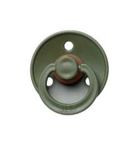 HUNTER GREEN bibs pacifier