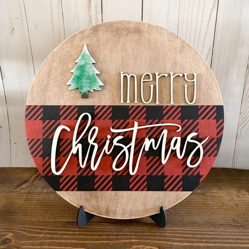 MERRY CHRISTMAS diy sign kit