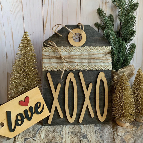 XOXO diy sign kit