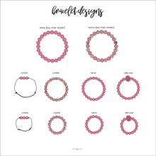 PERFECTLY PINK binky beads