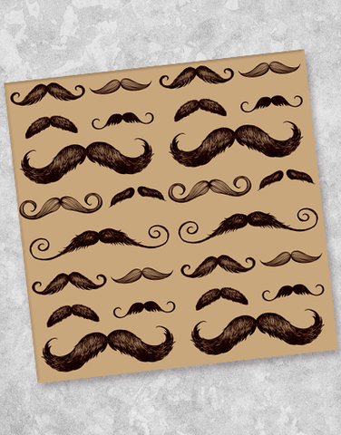 What's Your 'Stache Style? Beverage Napkins (40 Count)
