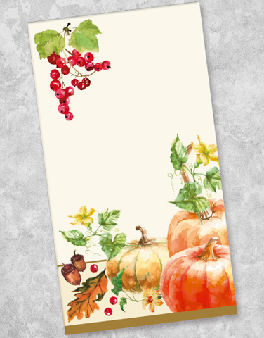 Autumn Harvest Guest Towel Napkins (40 Count)