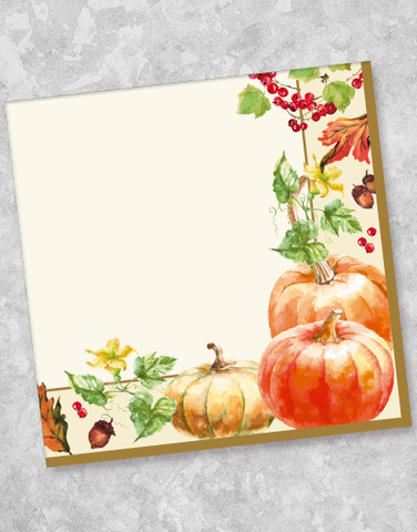 Autumn Harvest Luncheon Napkins (40 Count)