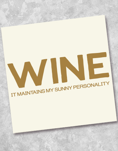 Sunny Personality Beverage Napkins (40 Count)