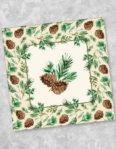 Peaceful Pines Luncheon Napkins (40 Count)