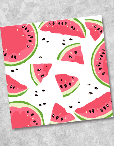 Watermelon Fun Beverage Napkins (40 Count)