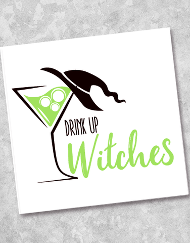 Drink Up Witches Beverage Napkins (40 Count)