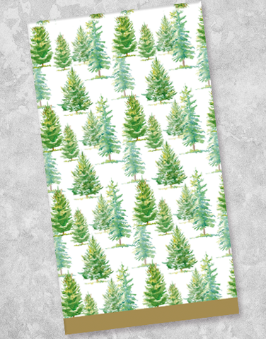 Fresh Forest Guest Towel Napkins (40 Count)