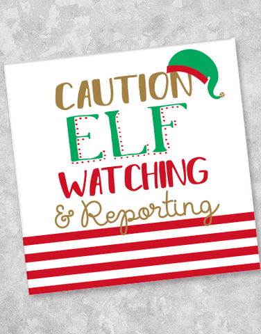 Elf Patrol Beverage Napkins (40 Count)