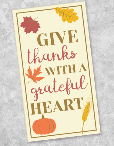 A Grateful Heart Guest Towel Napkins (40 Count)