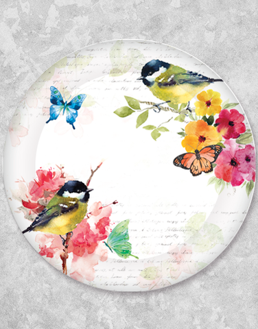 In The Garden Dinner Plates (15 Count)