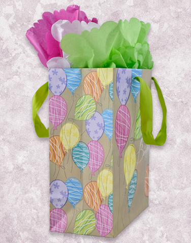 Balloon Dreams Kraft Gift Bags