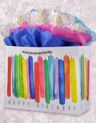 Watercolor Wishes Gift Bags