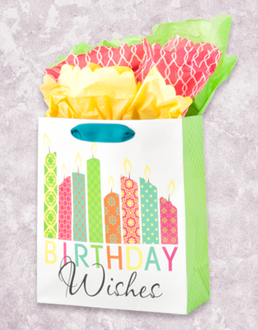 Candle Wishes (Studio) Gift Bags