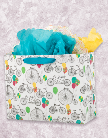 Bicycles & Balloons (Market) Gift Bags