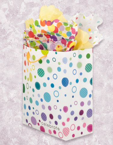 Dotty Celebration (Garden) Gift Bags