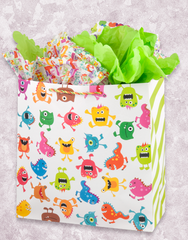 Monster Bash (Square Jumbo) Gift Bags