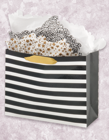 Black Stripes (Market) Gift Bags