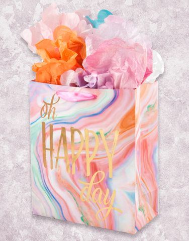 Happy Day Marble (Garden) Gift Bags
