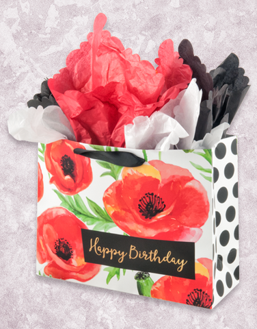Brilliant Poppies (Market) Gift Bags