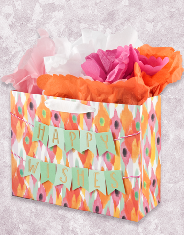 Happy Wishes Banner (Market) Gift Bags