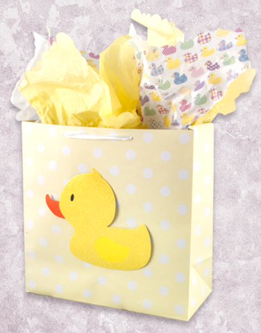 Baby Duckling (Square Jumbo) Gift Bags