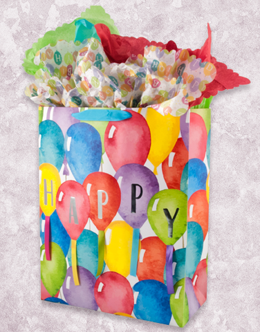 Giant Watercolor Balloons (Jumbo) Gift Bags