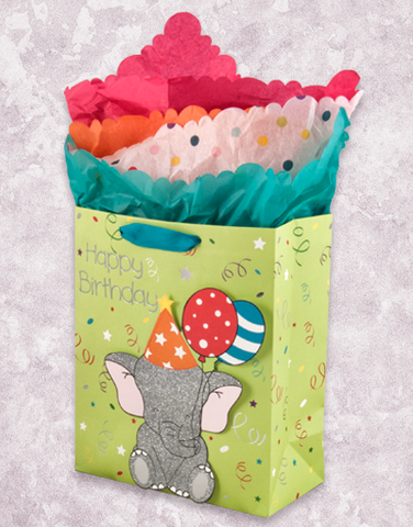 Party Time Elephant (Garden) Gift Bags