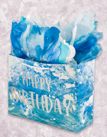 Blue Marble (Market) Gift Bags