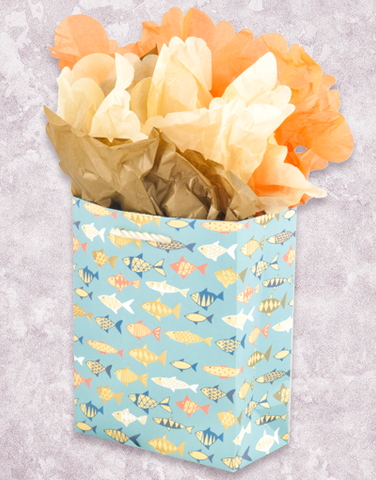 Wonderful Fish (Petite) Gift Bags