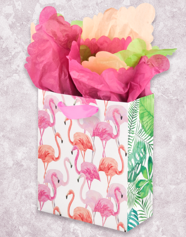 Flamingo Flock (Studio) Gift Bags