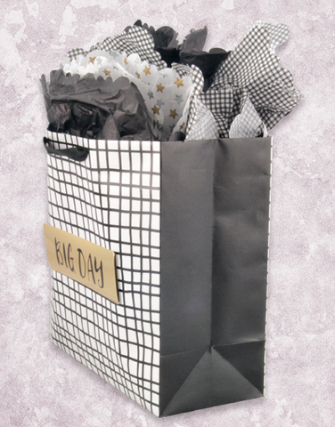 Big Day Web (Square Jumbo) Gift Bags