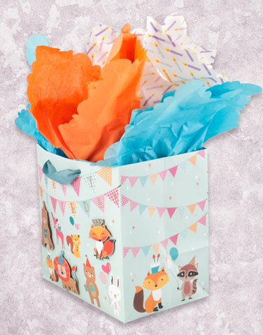 Critter Celebration (Medium Square) Gift Bags