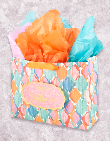 Watercolor Rhombus (Market) Gift Bags