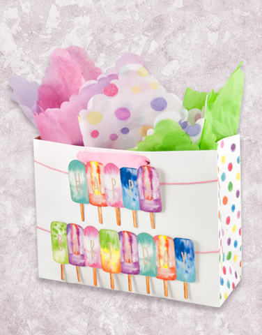 Watercolor Popsicles (Market) Gift Bags