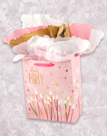 Candles & Sparkles (Petite) Gift Bags