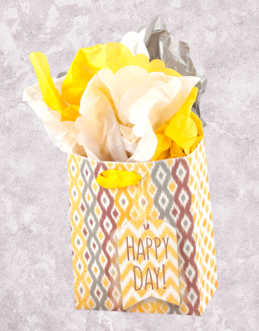 Happy Day Ikat (Petite) Gift Bags