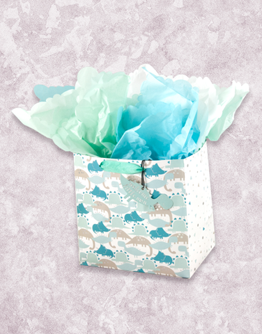 Baby Dinos (Medium Square) Gift Bags
