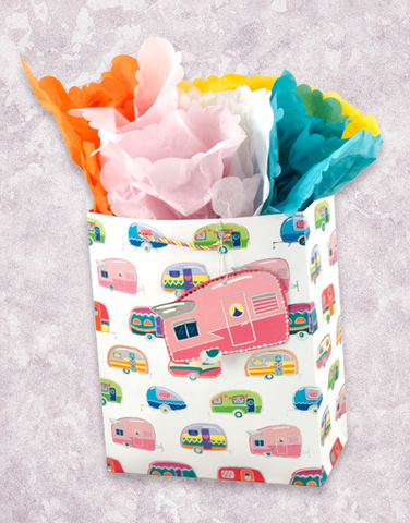 Colorful Campers (Garden) Gift Bags