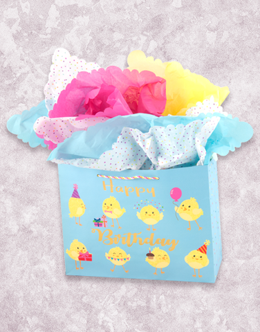 Birthday Chicks (Market) Gift Bags