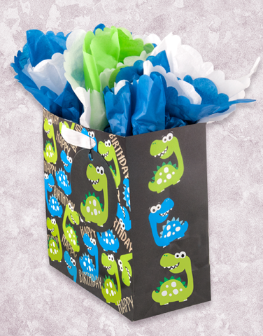 Dino's Day (Medium Square) Gift Bags