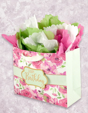 Painted Pink Posies (Market) Gift Bags