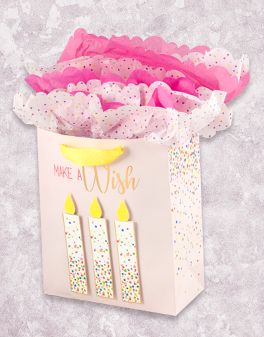 Confetti Candles (Studio) Gift Bags