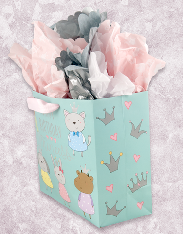 Beautiful Princess (Medium Square) Gift Bags