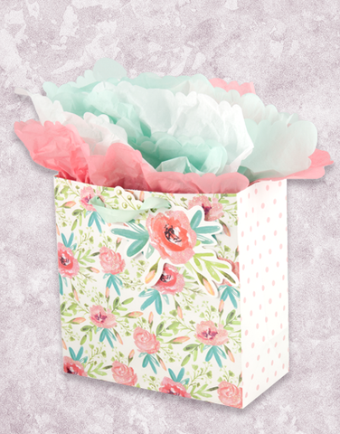 Spring Blooms (Medium Square) Gift Bags